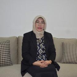 Dr. Ria Mardiana Yusuf, SE., M.Si - Ketua Divisi Monev dan Audit Mutu
